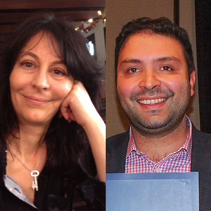 Karma Nabulsi and Abdel Razzak Takriti